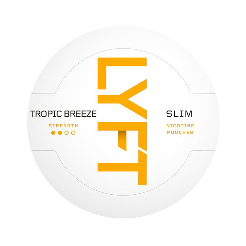 LYFT Tropic Breeze Nicotine Pouches