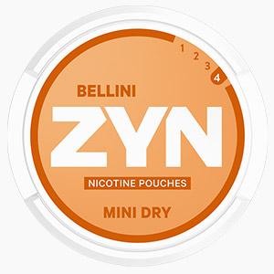 Nicotine Pouches ZYN Mini Dry Bellini